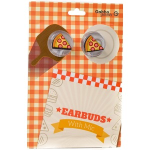 GABBA GOODS CASQUE INTRA AURICULAIRE PIZZA