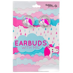 GABBA GOODS CASQUE INTRA AURICULAIRE UNICORN