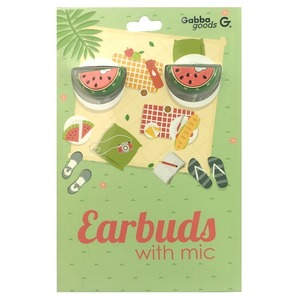GABBA GOODS CASQUE INTRA AURICULAIRE WATER MELON