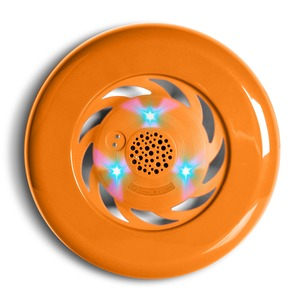 FRISBEE SPEAKER LUMINEUX ORANGE