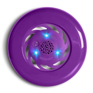FRISBEE SPEAKER LUMINEUX PURPLE