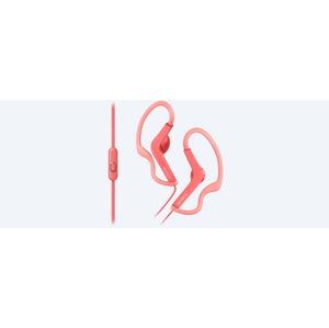 ECOUTEURS SPORT TOUR D'OREILLE AJUSTABLE ROSE