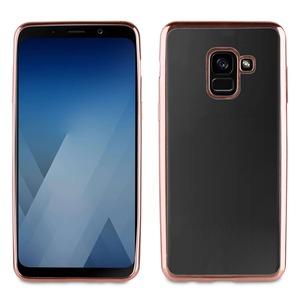 COQUE BLING ROSE GOLD: SAMSUNG GALAXY A8 2018