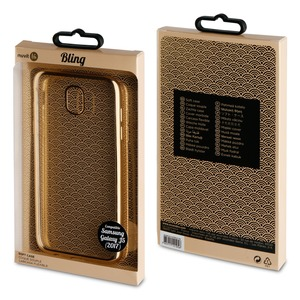LIFE COQUE BLING OR: SAMSUNG GALAXY J5 2017