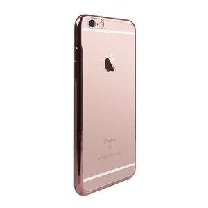 COQUE BLING OR ROSE: APPLE IPHONE 6/6S