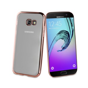 COQUE BLING OR ROSE: SAMSUNG GALAXY A3 2017