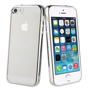 COQUE BLING ARGENT ET DIAMANTS: APPLE IPHONE 5/5S/SE