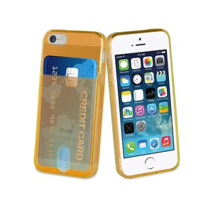 COQUE ORANGE FLUO: APPLE IPHONE 5/5S/SE