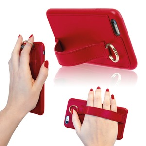 COQUE RING ROUGE: APPLE IPHONE 6+/6S+/7+/8+