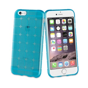 COQUE SOUPLE SIXTY BLEU: APPLE IPHONE 6/6S/7/8