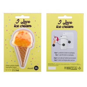STICKER GLACE JAUNE