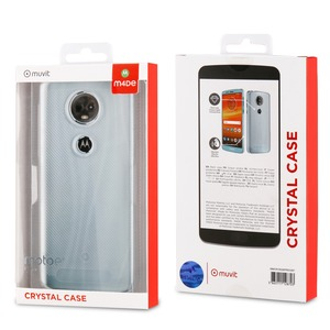 MADE FOR MOTO COQUE CRYSTAL: MOTOROLA E5+