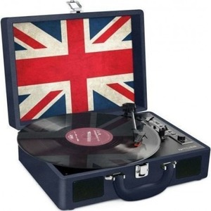 Platine Vinyle USB Encoding - Batterie interne - Déco UK