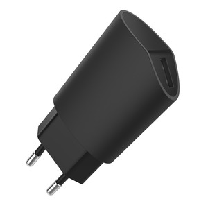 MADE IN FRANCE CHARGEUR SECTEUR 1A USB NOIR