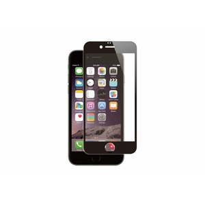 FOR CHANGE VERRE TREMPE PLAT CONTOUR NOIR: APPLE IPHONE 7/8/SE