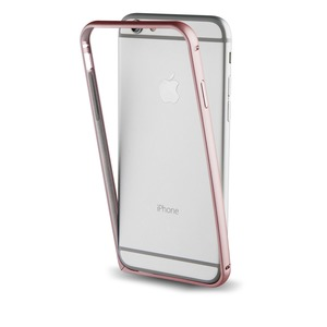 BUMPER OR ROSE + FILM PROTECTEUR ARRIERE POUR APPLE IPHONE 7