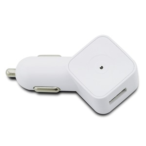 CHARGEUR VOITURE 2USB 3.1A BLANC