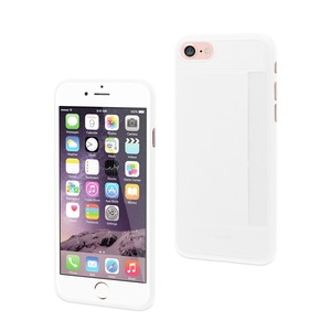 COQUE CARD CASE BLANC: APPLE IPHONE 6+/6S+/7+/8+