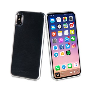 COQUE CRYSTAL SOFT TRANSPARENTE: APPLE IPHONE X/XS