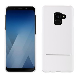 COQUE EDITION SKIN CASE BLANC: SAMSUNG GALAXY A8 2018