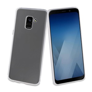 PP COQUE CRYSTAL SOFT TRANSPARENTE: SAMSUNG GALAXY A8 2018