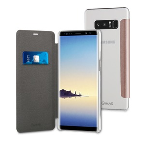 FOLIO CASE OR ROSE: SAMSUNG GALAXY NOTE 8