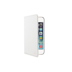 ETUI FOLIO STAND BLANC APPLE IPHONE 5S/SE