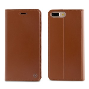 FOLIO STAND MARRON: APPLE IPHONE 6+/6S+/7+/8+