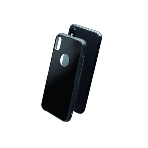 GLASSKIN COQUE GLASS CASE NOIRE: APPLE IPHONE X/XS