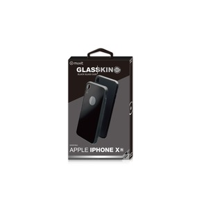 GLASSKIN COQUE GLASS CASE NOIRE: APPLE IPHONE XR
