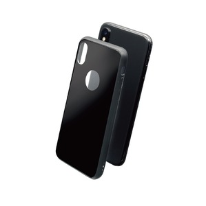 GLASSKIN COQUE GLASS CASE NOIRE: APPLE IPHONE XS MAX