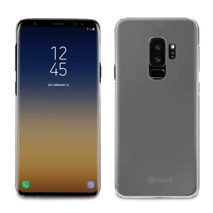 PACK COQUE+ VERRE TREMPE TRANSPARENT: SAMSUNG GALAXY S9+