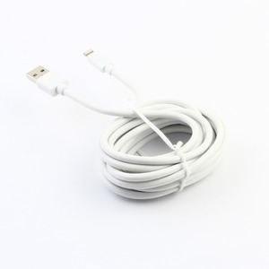 SPRING CABLE DROIT CHARGE & SYNC 2.4A LIGHTNING 3M BLANC