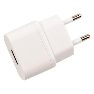 SPRING CHARGEUR SECTEUR 1A USB BLANC