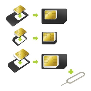 ADAPTATEUR CARTE SIM NANO/MINI/NORMAL