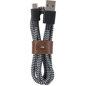 NATIVE UNION BELT CABLE MICRO USB ZEBRA MEDIUM 12M