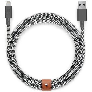 NATIVE UNION BELT CABLE USB-A TO USB- C ZEBRA 3M KEVLAR