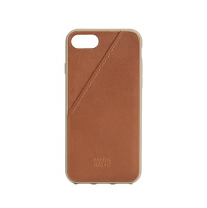 NATIVE UNION CLIC CARD CUIR MARRON APPLE IPHONE 7/8