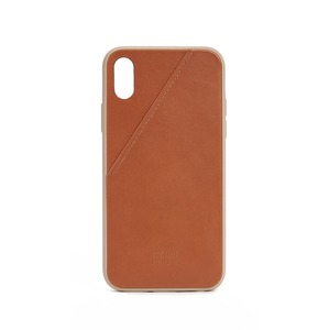 NATIVE UNION CLIC CARD CUIR MARRON APPLE IPHONE X