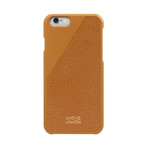 NATIVE UNION CLIC LEATHER GOLD APPLE IPHONE 6/6S