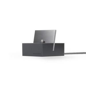 NATIVE UNION DOCK APPLE IPHONE LIGHTNING SLATE + CABLE KEVLAR 1.2M