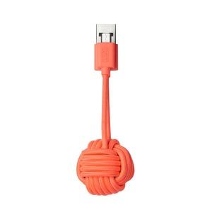 NATIVE UNION KEY CABLE MICRO USB CORAIL