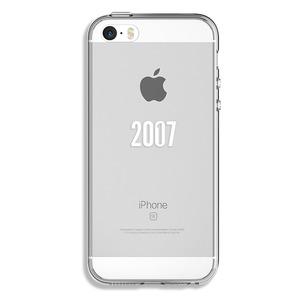 COQUE 10 ANS 2007-2017 TRANSPARENTE POUR IPHONE 5/5S/SE