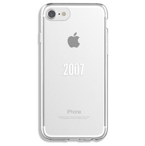 COQUE 10 ANS 2007-2017 TRANSPARENTE POUR IPHONE 6/6S/7/8
