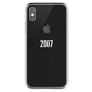 COQUE 10 ANS 2007-2017 TRANSPARENTE POUR IPHONE X/XS