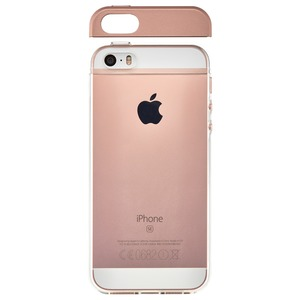 COQUE TOPPER ROSEGOLD APPLE IPHONE SE