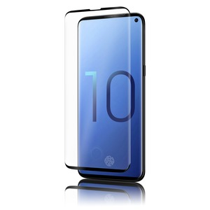 QDOS VERRE TREMPE OPTIGUARD GLASS CURVE NOIR SAMSUNG GALAXY S10