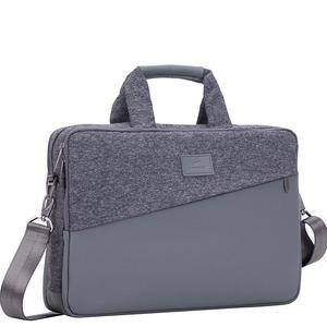 EGMONT Sacoche grise 2 poches de rangement - 15.6
