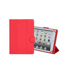 MALPENSA Etui folio universel rouge cuir tablettes 10.1