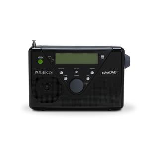 ROBERT RADIO SOLAR DAB 2 - BLACK DAB+ FM